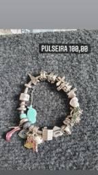 Pulseira/ berloques vivara