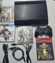 Título do anúncio: PlayStation 3 com jogos