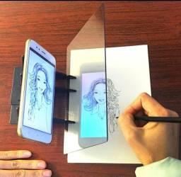 Projetor De Pintura / Quadro De Desenho De Calular Óptico Inteligente Para Crianças