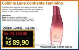 Título do anúncio: Perfume Luna confiante natura