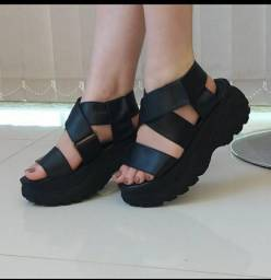 Sandálias plataforma