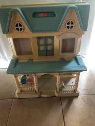 FISHER PRICE - casinha de brinquedo
