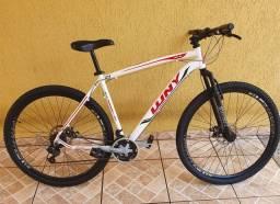 Título do anúncio: Bicicleta de alumínio super conservada