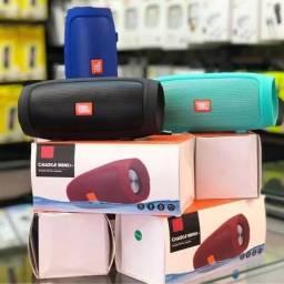 Título do anúncio: Caixinha De Som Charge 3 Mini Bluetooth Pen Drive SD Alto Falante Portátil
