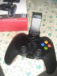 Controle Game Joystick, para Jogar no Celular Bluetooth Android 9078