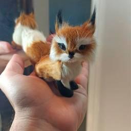 Título do anúncio: Action Figure Raposa Fox Ultra Realista Ornamento Decoração Promoção Dia Das Crianças