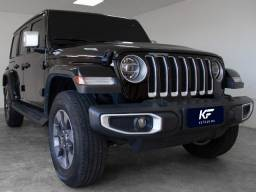 Título do anúncio: Jeep Wrangler 2.0 Turbo Gasolina Sahara Overland 2020 Preto