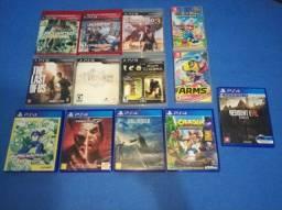 Título do anúncio: Jogos de PS4/PS3/Nintendo Switch