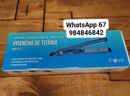 Título do anúncio: Chapinha pracha de titânio Inova HW-912