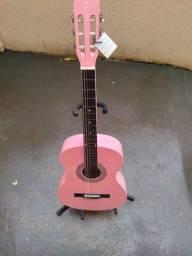 Violão auburn rosa