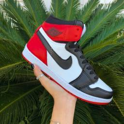Título do anúncio: Tênis Nike Air Jordan - Tricolor