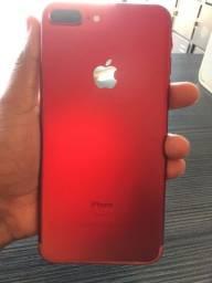 Título do anúncio: iPhone 7 Plus Red  128 GB