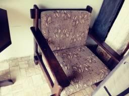 Sofá cadeira duas unidades