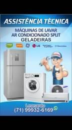 Manutencao em maquina de lavar