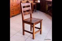 Cadeira estilo Contemporânea | Feito de Madeira de demolição