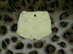 Short Jeans 1 ano