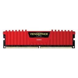 Memória Corsair Vengeance Vermelha DDR4 8Gb