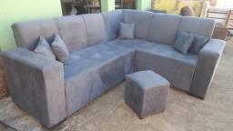 Sofa de canto + almofadainhas