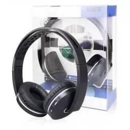 Fone Bluetooth De Alta Qualidade Entrada Cartão Sd Kp-420