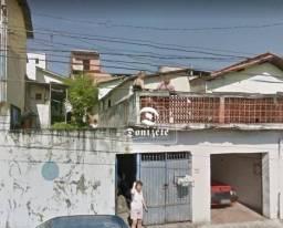 Terreno à venda, 250 m² por r$ 265.000,00 - jardim do estádio - santo andré/sp