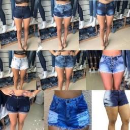 Saldão somente 30,00 short ou saia jeans