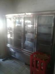 Freezer inox