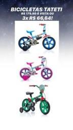 Bicicletas aro 12 - produtos novos