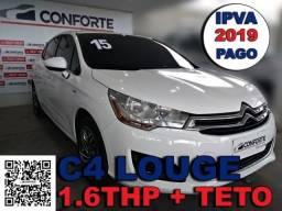 CitroËn c4 lounge 2015 1.6 exclusive 16v turbo gasolina 4p automÁtico - 2015