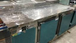 Balcão refrigerado 1,90mts com pia novo 984330535
