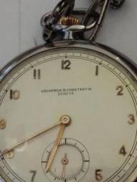 1f243543dd4 Relogio vacheron constantin bolso aço decada de 40