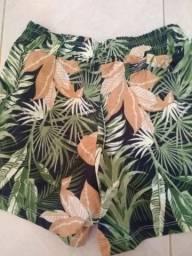Bermuda nova feminino moda verão