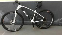 Caloi Elite Carbon Racing Aro 29 - (2 x 11) - Tamanho M - Kit XT completo M8000