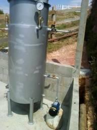 Caldeira a Lenha Nova 150 kg vapor/hora