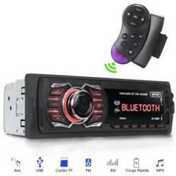 Mp3 play com bluetooth usb sd radio e controle de volante