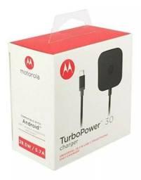 Carregador Turbo Motorola - Produto Novo e Lacrado