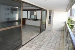 1349 - Amplo apto 4 quartos na rua Setubal, varanda