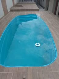 LS - Aproveite a promoção de piscinas de fibra - 5,80x 2,68x1,35