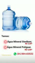 Água mineral e Laranja
