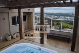 Apartamento com 3 dormitórios à venda, 157 m² por R$ 3.500.000,00 - Parque dos Buritis - R