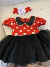 Fantasia Minnie Mouse 1 ano comprar usado  São Paulo