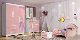 Quarto Infantil Princesa Encanto - Rosa Rosa, usado comprar usado  Goiânia