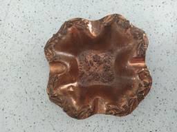 Cinzeiro (antigo) de cobre