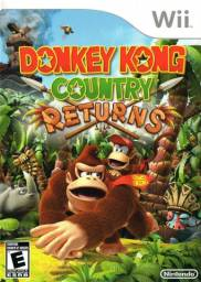 Donkey Kong Coutry Returns wii