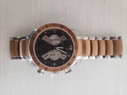 Relógio Bvlgari Cromado Lindo