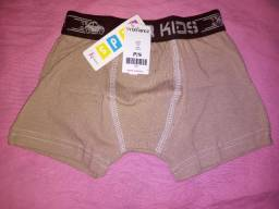 CUECA BOXER  FOR KIDS INFANTIL - P