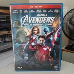 Filme Os Vingadores em blu-ray