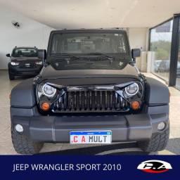 Jeep Wrangler 2010 Impecável Aceito Trocas E Financio