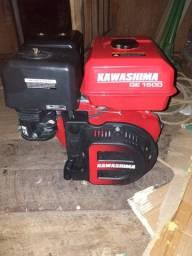 Vende se motor de 15 hp kawashima novo poucos dias de usi