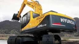 Escavadeira Hyundai R 220 LC-9 Peso Operacional 22.200 kg 2020