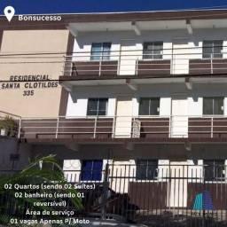 Alugo Excelente Apartamento No Bairro Bonsucesso, Próximo a Avenida Augusto Dos Anjos